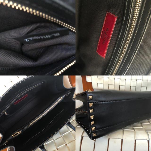valentino garavani(ヴァレンティノガラヴァーニ)のバレンチノ ロックスタッズ レザーバッグ レディースのバッグ(ハンドバッグ)の商品写真