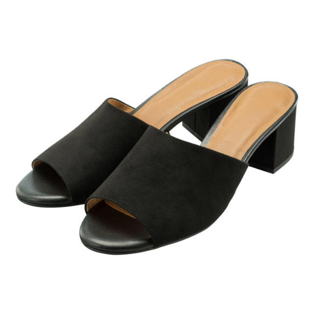 GU(ジーユー)のGU♡ミュール♡ブラック レディースの靴/シューズ(サンダル)の商品写真