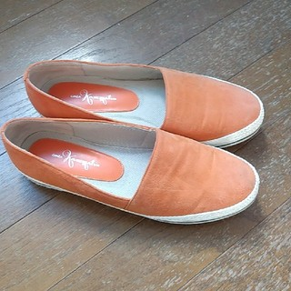 ギンザカネマツ(GINZA Kanematsu)の銀座カネマツ フラットシューズ 24㎝(ローファー/革靴)