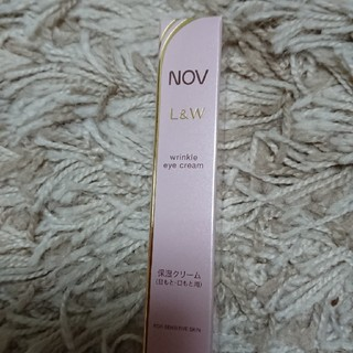 ノブ(NOV)のノブ L&W リンクルアイクリーム 12g 未開封(アイケア/アイクリーム)