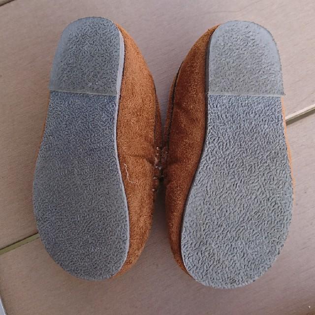 ampersand(アンパサンド)のアンパサンド モカシン 14.5㎝ キッズ/ベビー/マタニティのベビー靴/シューズ(~14cm)(フラットシューズ)の商品写真