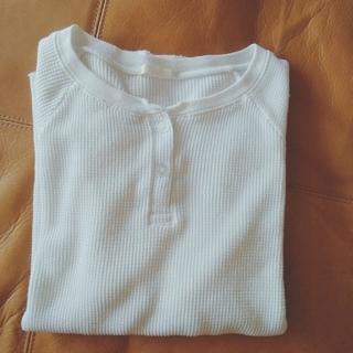 GU - GU 人気 ワッフルTシャツ