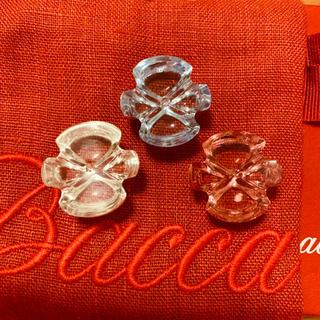 バカラ(Baccarat)のBaccarat バカラ リング 指輪 3色 クリスタル 付替え 着せ替え(リング(指輪))