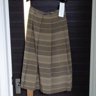 ソワール(SOIR)の値下げ!新品タグ付送料込!東京ソワール サラサラ生地のスカート(ひざ丈スカート)