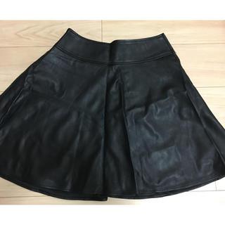 ビームス(BEAMS)のBEAMS合皮レザースカート(ミニスカート)