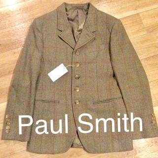 ポールスミス(Paul Smith)のPaul Smith  ヘリンボーン チェックジャケット 新品(テーラードジャケット)