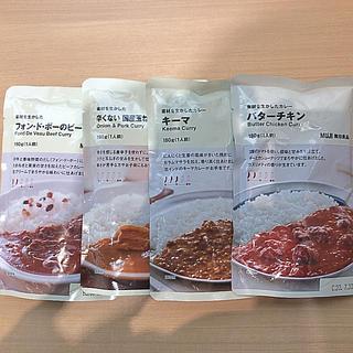 ムジルシリョウヒン(MUJI (無印良品))の無印カレー.4種(レトルト食品)