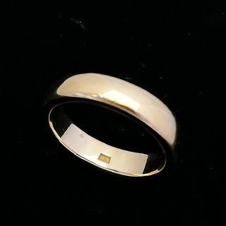 新品仕上げ済✨ 甲丸リングはシンプルでつけやすいです♥️ K18YG(リング(指輪))
