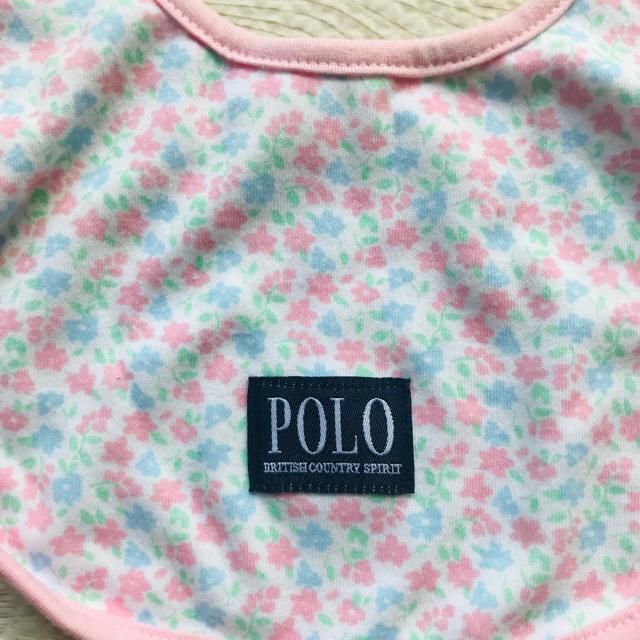 POLO RALPH LAUREN(ポロラルフローレン)のpolo  スタイ よだれかけ キッズ/ベビー/マタニティのこども用ファッション小物(ベビースタイ/よだれかけ)の商品写真