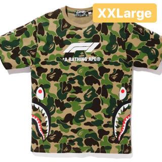 アベイシングエイプ(A BATHING APE)のF1 BAPE SHARK TEE 2XLサイズ(Tシャツ/カットソー(半袖/袖なし))