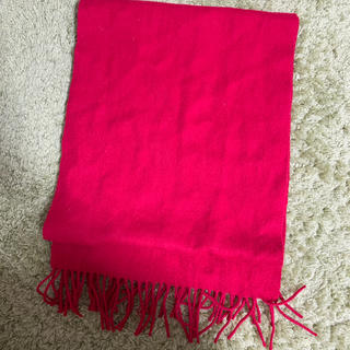 ビームス(BEAMS)の赤いスカーフ ウール(バンダナ/スカーフ)