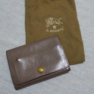 イルビゾンテ(IL BISONTE)のIL BISONTE 財布 グレー(財布)
