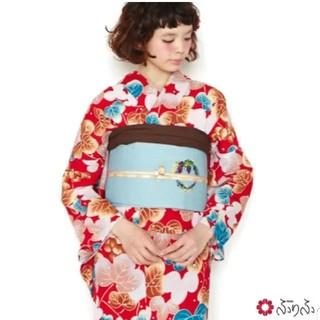 フリフ(ふりふ)のnico326様専用ふりふオリジナル浴衣「ぶどうっと。」新品未使用 単衣としても(浴衣)