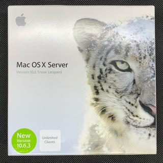 アップル(Apple)のMac OS X Server 10.6 Snow Leopard(その他)