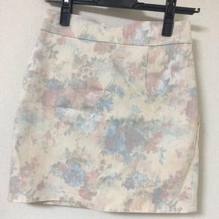 ピンキーガールズ(PinkyGirls)の花柄 ミニスカート(ミニスカート)