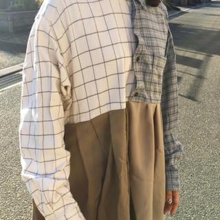 ラルフローレン(Ralph Lauren)の古着リメイクワンピース(ロングワンピース/マキシワンピース)
