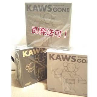 メディコムトイ(MEDICOM TOY)のanytime様、【新品未開封】kaws  gone  3体セット!(キャラクターグッズ)