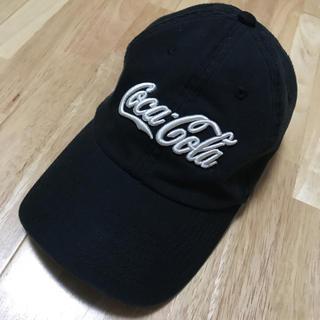 コカコーラ(コカ・コーラ)の黒キャップ コカコーラ(キャップ)