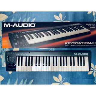MーAUDIO Keystation 49 [MIDIキーボード](MIDIコントローラー)