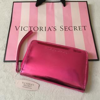 ヴィクトリアズシークレット(Victoria's Secret)の新品 ヴィクトリアシークレット スマホケース 財布(iPhoneケース)