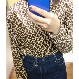 トゥデイフル(TODAYFUL)のフェンディ 風 トップス(Tシャツ(長袖/七分))