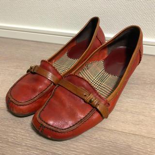 アシナガオジサン(あしながおじさん)のあしながおじさんローファー(ヒールあり)(ローファー/革靴)