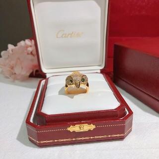 カルティエ(Cartier)の人気美品 Cartier リング ゴールド 8号(リング(指輪))