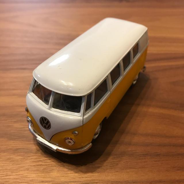 Volkswagen(フォルクスワーゲン)のwelly ワーゲン microbus ミニカー エンタメ/ホビーのおもちゃ/ぬいぐるみ(ミニカー)の商品写真