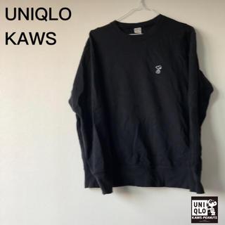 スヌーピー(SNOOPY)のセット販売 UNIQLO KAWS スヌーピー スウェット + 非売品バッグ(Tシャツ/カットソー(半袖/袖なし))