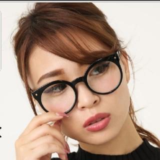 リエンダ(rienda)のrienda リエンダ Cat forme アイウェア だて眼鏡 メガネ(サングラス/メガネ)