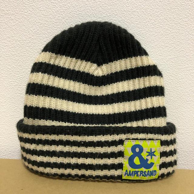 ampersand(アンパサンド)のニット帽 キッズ/ベビー/マタニティのこども用ファッション小物(帽子)の商品写真