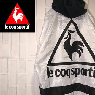 ルコックスポルティフ(le coq sportif)の【激レア】90s ルコック ナイロンパーカー ビックロゴ  ワンポイントロゴ(ナイロンジャケット)