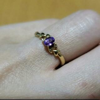 K18 アメジスト指輪(リング(指輪))