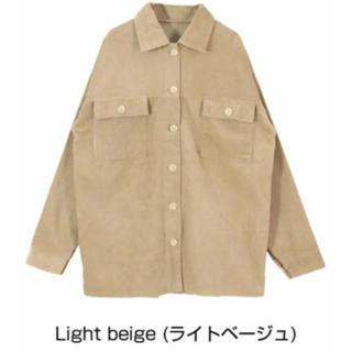 ディーホリック(dholic)のティティべイトコーデュロイシャツ(テーラードジャケット)