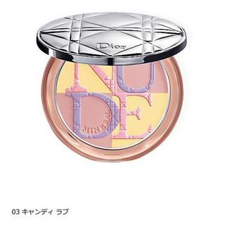 ディオール(Dior)のDior ミネラルヌード グロウパウダー 03(フェイスパウダー)