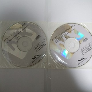 エヌイーシー(NEC)のNEC LC700J/64DR アプリケーションCD (PC周辺機器)