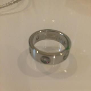 カルティエ(Cartier)のラブリング Cartier好きに(リング(指輪))