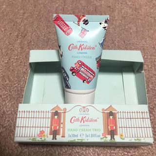 キャスキッドソン(Cath Kidston)の【新品未使用】ロンドン限定 キャスキッドソンのハンドクリーム(30ml)(ハンドクリーム)