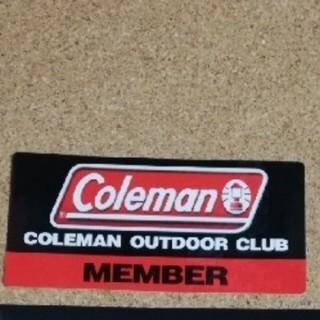 コールマン(Coleman)のコールマンアウトドアクラブ限定ステッカー(ステッカー)