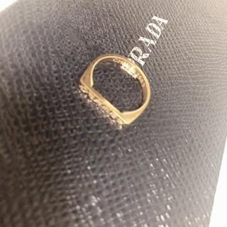 シャネル(CHANEL)のCHANEL スクエア 指輪 ノベルティ(リング(指輪))