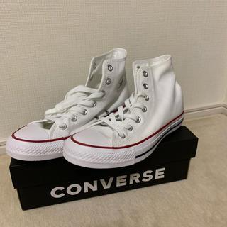 コンバース(CONVERSE)のconverse〈白〉(スニーカー)