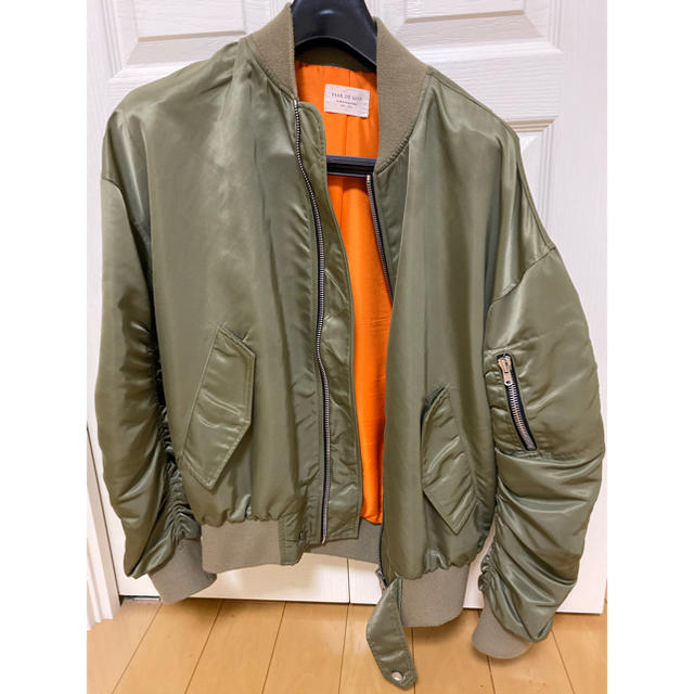 FEAR OF GOD(フィアオブゴッド)の正規品FEAR OF GOD MA-1 ボンバー Mサイズ メンズのジャケット/アウター(ブルゾン)の商品写真