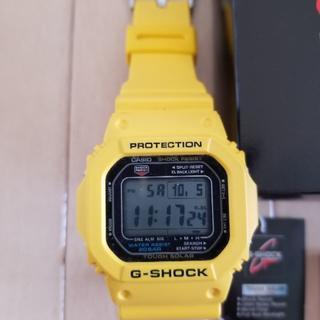 カシオ(CASIO)のGショック タフソーラー搭載 G-5600A-9 イエロー(腕時計(デジタル))