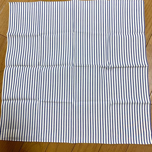 Drawer(ドゥロワー)の★htokyoハンカチ専門店フレッシュストライプハンカチ新品 レディースのファッション小物(ハンカチ)の商品写真