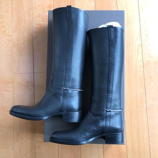 サルトル(SARTORE)の美品 サルトル ビットロングブーツ SR2404 黒 乗馬ブーツ SARTORE(ブーツ)