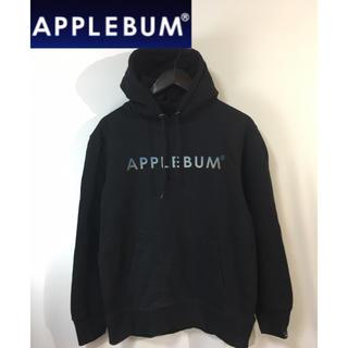 APPLEBUM - APPLEBUM アップルバム プルオーバーパーカー フーディ ブラック 黒 L