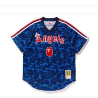 アベイシングエイプ(A BATHING APE)のBAPE Mitchell&Ness  Angels 2XL  XXL(Tシャツ/カットソー(半袖/袖なし))