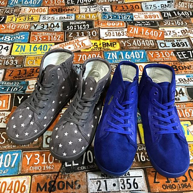 ampersand(アンパサンド)のアンパサンド  ampersand ハイカットスニーカー 2足セット 21cm キッズ/ベビー/マタニティのキッズ靴/シューズ (15cm~)(スニーカー)の商品写真