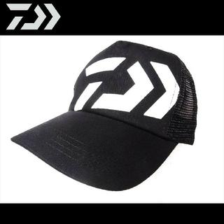 ダイワ(DAIWA)の新品 ダイワ ロゴ キャップ ブラック ホワイト 帽子(ウエア)