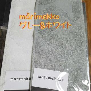 マリメッコ(marimekko)のmarimekko【マリメッコ】ウニッコ柄❤️タオルハンカチ❤️2枚セット‼️(ハンカチ)